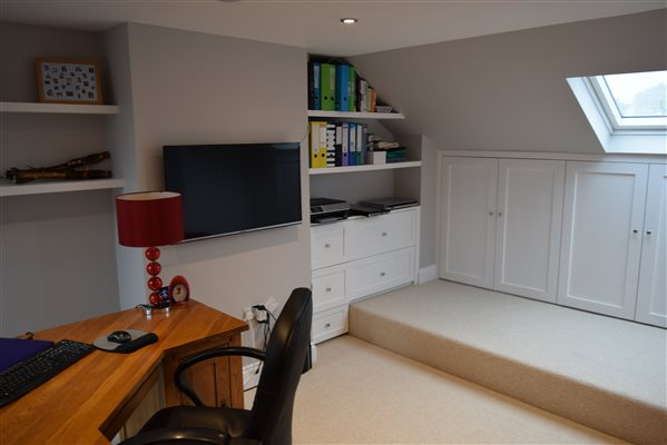Loft conversion in Chiswick W4 5ES