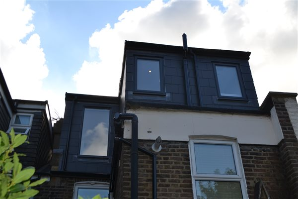 Loft conversion in Acton W3 6AS