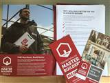 Federation of Master Builders - New rebrand pack arrived to the office today