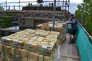 Delivery of London stock bricks to Fulham SW6