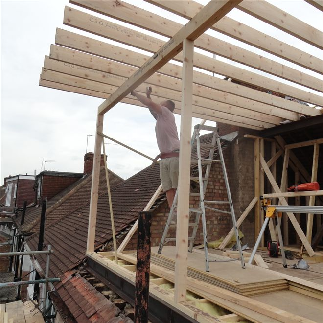 Building a dormer in Isleworth TW7