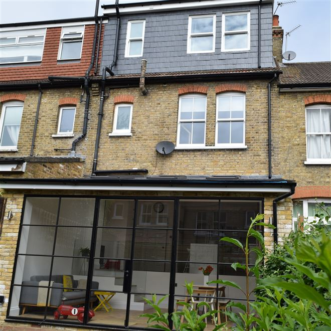 Loft conversion & kitchen extension Ealing W5 by Ash Island Lofts