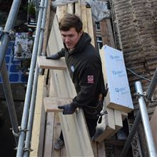Billy working hard at this loft conversion in Isleworth TW7