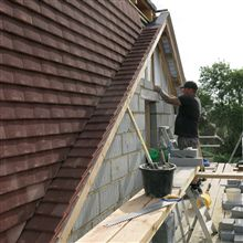 Building up the gable end