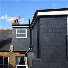 L shape dormer Ealing W5 by Ash Island Lofts
