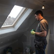 Hayden from Ash Island Lofts in Velux loft conversion in Shepherds Bush W12