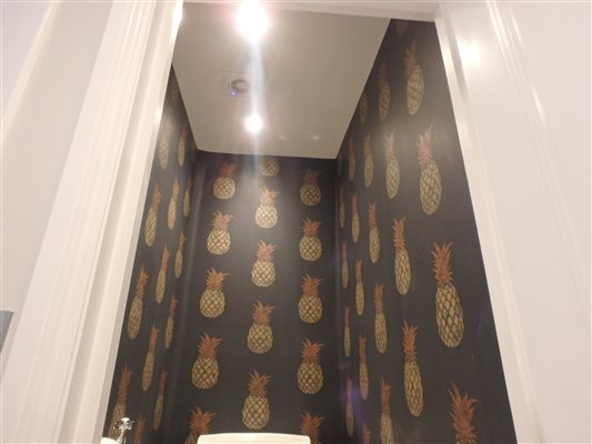 Farrow and Ball Wallpaper at Haydn Park Road, Shepherds Bush