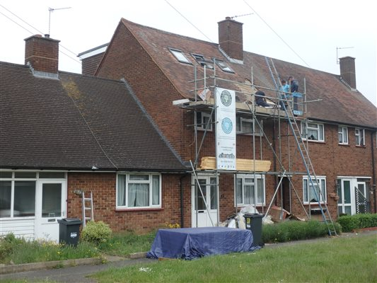 Ash Island Roofers finished in Feltham