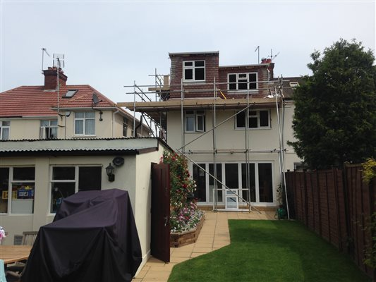 Hip to gable in Surbiton KT6 with an L Shape Twist