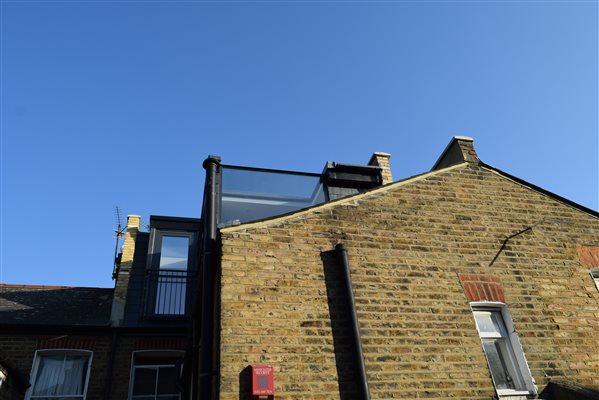 Loft conversion in Hammersmith W6 8LU