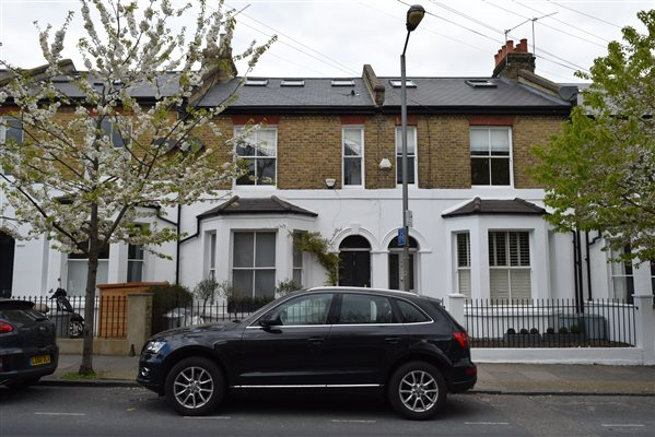 Loft conversion in Wandsworth Common SW17 7EA