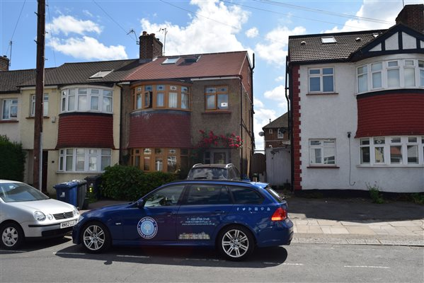 Loft conversion in Southall UB1 3ES