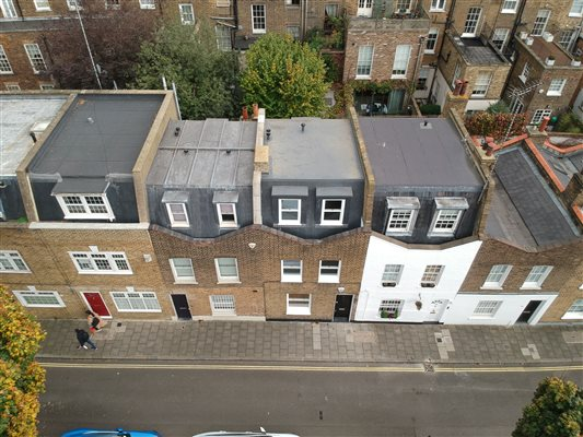 Loft conversion in Marylebone NW1 6EX