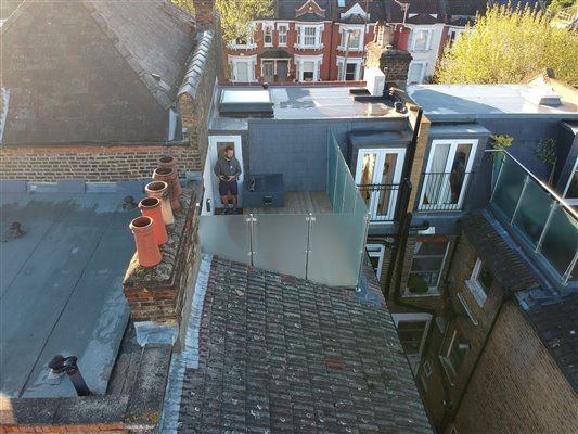 Loft conversion in Earlsfield SW18 3DU