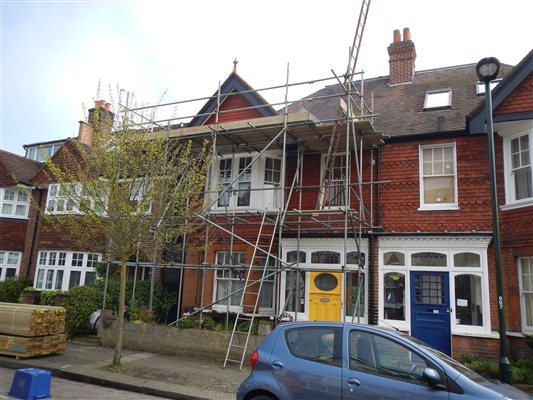 New project starting in Beechwood Ave Kew TW9