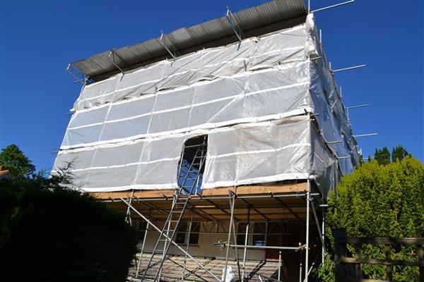 Loft Conversions Tin Hat Scaffolding