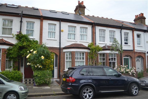 Loft conversion with full reroof of front elevation in Ernest Gardens W4
