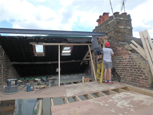 Loft conversions dormer loft conversion in chiswick w4 for W 4 bathrooms chiswick