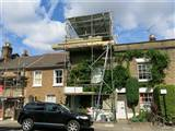 Chiswick W4 mansard conversion underway