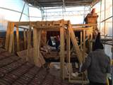 Mansard timber frame work up in Farlton Road Wandsworth SW18