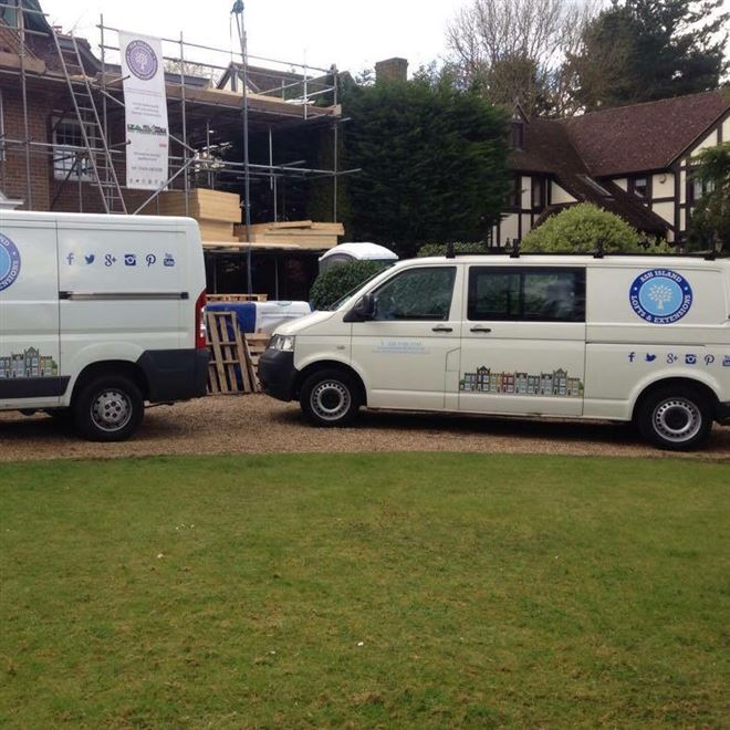 Ash Island Lofts vans for loft conversions