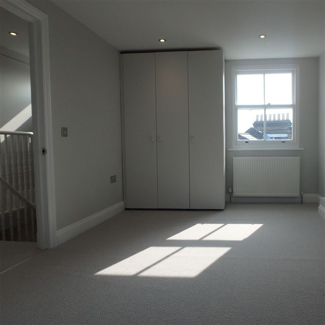 Carpets fitted at W12 loft conversion