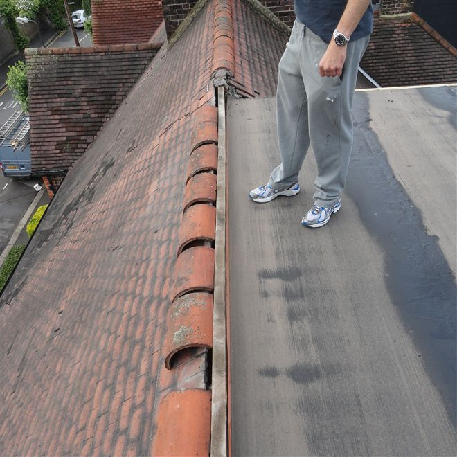 Flat roofing in Wimbledon.