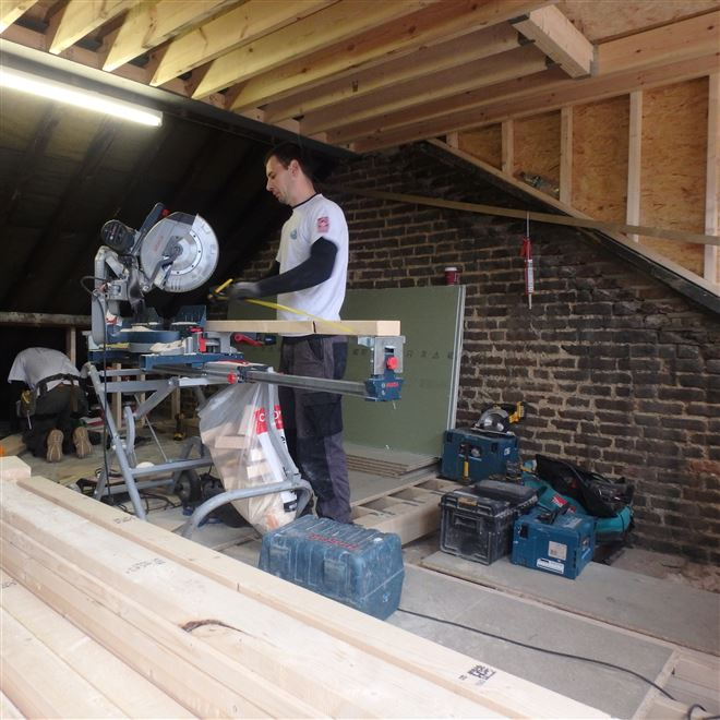 Loft conversion chiswick W4 L shape dormer Ash Island Lofts
