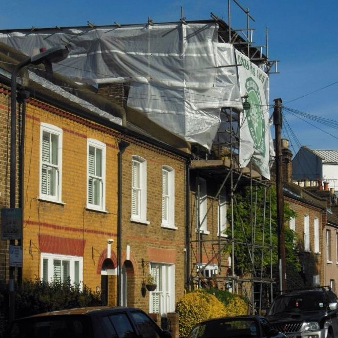 House refurbishment and mansard loft conversion in Chiswick W4