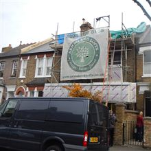 Chiswick loft conversion underway