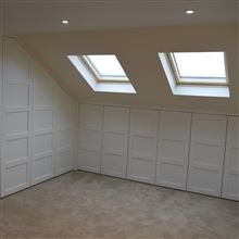 Fitted cupboards loft conversion Isleworth TW7