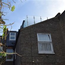 L shape mansard with roof terrace SW17 Ash Island Lofts