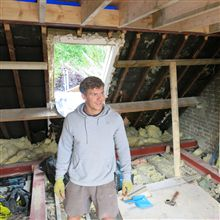 Billy here from Ash Island lofts a few days into the loft convesion at Riverview Grove.