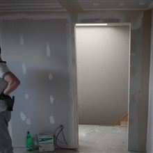 Adrian drywall finishing in Ealing loft conversion