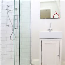 Loft conversion shower room in Wandsworth SW18
