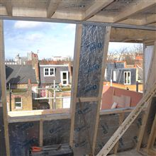 Mansard loft conversion in Hammersmith