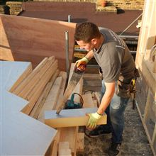 Hayden cutting insulation.