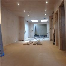 Plastered finish in Marylebone team Ash Island Lofts
