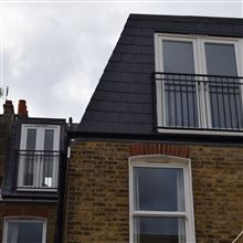l shape mansard in Tooting SW17 Ash Island Lofts