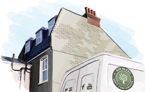 Single Mansard loft conversion